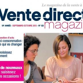 Découvrez Vente Directe, le magazine de la vente à domicile