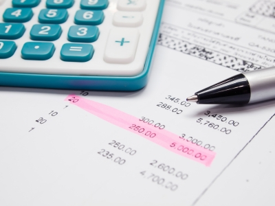 Bulletin de précompte impôts V