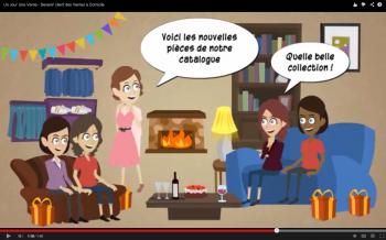 Vidéo Devenir client des ventes à domicile Un jour Une Vente
