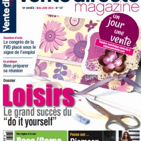 Cadeau Un Jour Une Vente : découvrez Vente Directe Magazine de Mai / Juin 2014