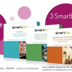 Jeu concours Un Jour Une Vente : gagnez des coffrets Smartbox!