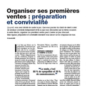 Le magazine Rebondir de Juillet - Août avec son dossier dédié à la Vente Directe