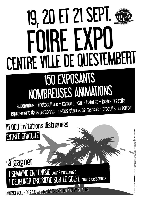 Foire expo de questembert 56 un jour une vente le blog for Piscine de questembert