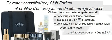 Devenir Conseillere Club Parfum