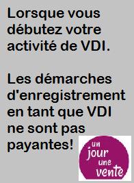 demarrage activité VDI