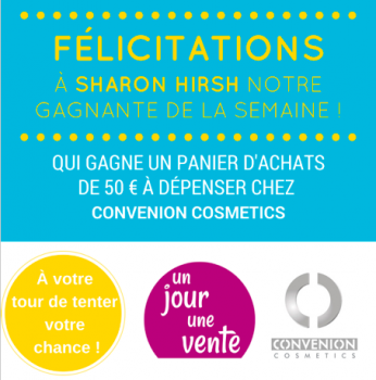 Félicitations à Sharon HIRSH