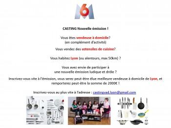 annonce casting vendeuses Lyon