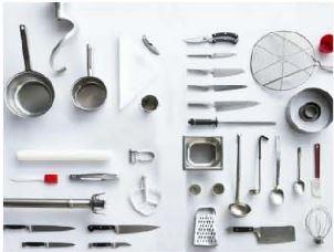 usetnsiles de cuisine en vente à domicile