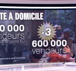 La Vente à Domicile, Star de France 2!