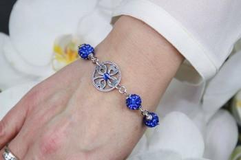 bracelet bleu du Rêve au Bijou