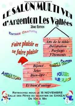 Le salon multi vdi d 39 argenton les vall es 2e dition un - Entree gratuite salon agriculture 2015 ...