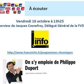 La Vente à Domicile à l'honneur sur France Info