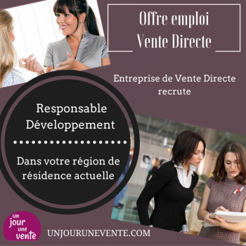 Offre d'emploiVente DirecteCDI
