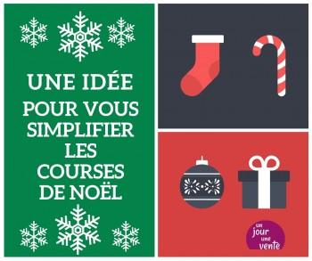 Une Idee pour les courses de Noel