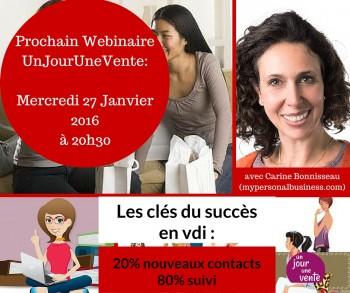 webinaire 1J1V Carine Bonnisseau