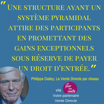 Philippe Dailey, La Vente Directe par nouveau 1
