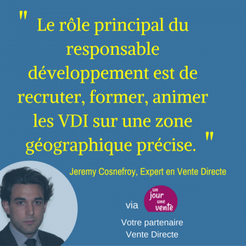 Role du responsable développement