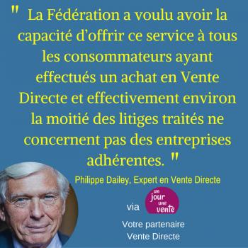 Philippe Dailey, La Vente Directe par réseau (1)