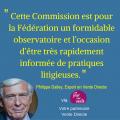 Philippe Dailey, La Commission paritaire de la FVD
