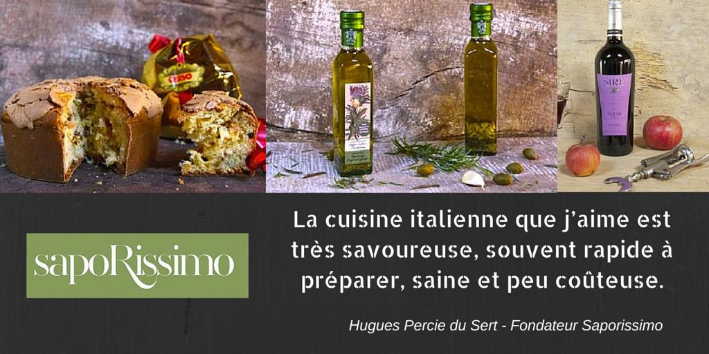 Notre coup de c ur de la semaine saporissimo un jour - Cuisine de marque italienne ...