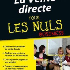 """Résultats du Jeu pour gagner le Livre """"la vente directe pour les Nuls"""""""