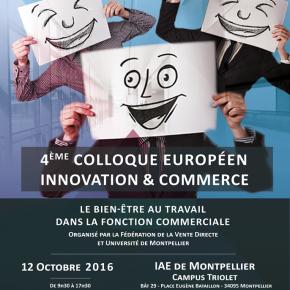 Colloque Innovation et Commerce : Le Bien être au Travail