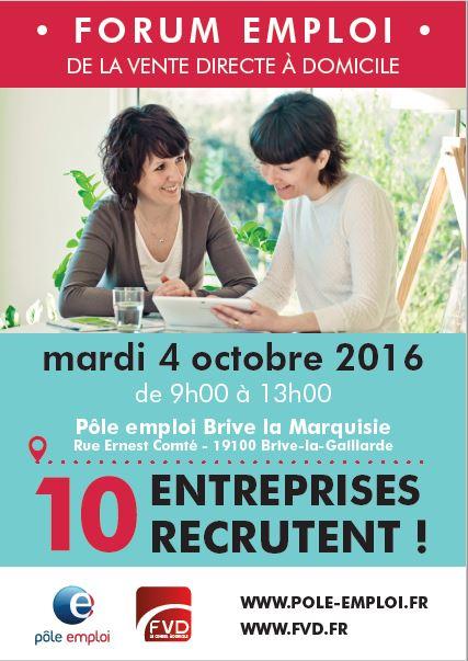 Forum de l 39 emploi fvd p le emploi vente directe un for Salon de l emploi bruxelles