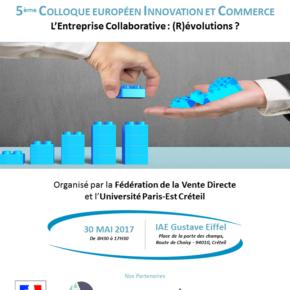 5ème édition du Colloque européen Innovation et Commerce