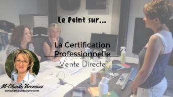 certification professionnelle