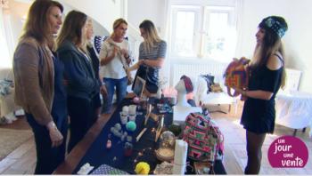 seance de vente une boutique dans mon salon ERIKA