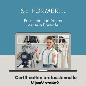 Faire carrière en vente à domicile grâce à la certification professionnelle